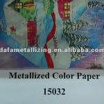 Metallized Paper For Wrapping Paper