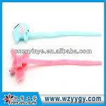 fancy elephant gift soft pvc zip tie for food package