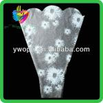 Yiwu color imprineted color high transparence clear flower wrap