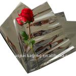 Attractive silver sleeve/foil sleeve/foil flower sleeve