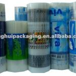 water/liquid/sauce/milk plastic packaging roll film