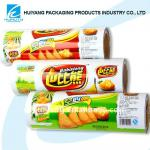 Colourful plastic printed bopp film for food packing