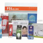 High Quality Varies Sizes LED Lamp/Light Paper Packaging Box Printing GB322