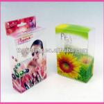PVC PET Plastic packaging Box Printing