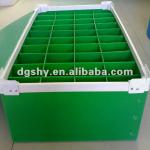 custom stackable plastic divider boxes,divided storage boxes