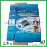 Fashion two tuck end corrugated packaging box includes logo