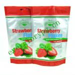 Aluminium Foil Food Pouch With Vivid Printing For Strawberry Packing
