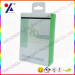 Crease Plastic packaging box with printing for power bank