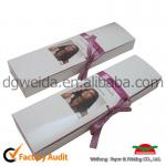 good look hair extension packing box with ribbon