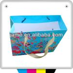2013 guangzhou high quality full color custom printed paper bags food