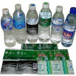 Packing Stocks--Quality Sleeve PVC PRINTED FILM for bottles, boxes