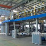 the over bridge convey corrugated production line equipment