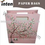 die cutting promotional paper shopping bag