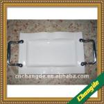creative ceramic tray handle /bakelite cookware handles
