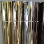 metallic Gold full transfer film for PU base, PU/PVC leather