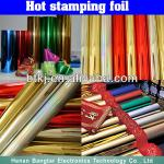 Colorful Hot Stamping Foil Film Price,Hot Stamping Film Manufacturer with Wide Scope Applications