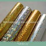 Gold and silver foil HOLOGRAPHIC FOIL for plastics packages-hot stamping foil