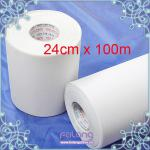 Extra Heavy 24cm x 100m Iron On Hot Fix Mylar Tape/Paper ,Hotfix motif paper