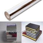 Pure silver aluminum hot stamping film for paper