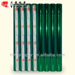 Green color multi color hot stamping foil for paper, plastic cover.