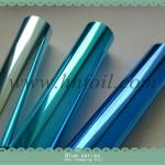 BLUE Hot stamping foil for laminated papers Foiling and Embossing
