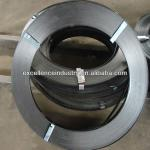Black painted high tensile steel strapping