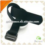 elastic velcro belt with plastic buckle