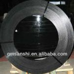 black painted and waxed 0.031*3/4 inch high tensile strength thin steel strapping
