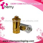 New royal golden plastic cap for nail polish bottle packaging