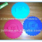 FDA silicone Mug Covers with Ribbon personized color as promotional gifts