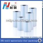 Good Price ! LDPE Plastic film Reel Material---Packing Film(roll bag)