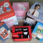 2011 colorful paper gift box