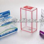 2013 new style clear pvc plastic packaging box