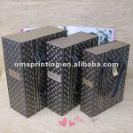 2014 Christmas paper gift boxes with handle