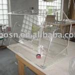 Acrylic Raffle Drum, Perspex Lucky Draw Pail, Plexiglass Lottery Box