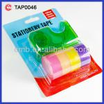 ADHESIVE STATIONERY COLOR TAPE