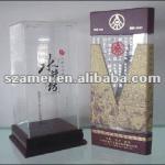 bespoke acrylic wine box, wine packing box