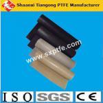 Black and brown color high temperature non adhensive ptfe fiberglass fabric