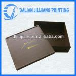 Black square shaped gift cardboard boxes