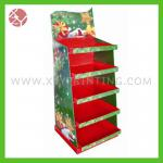 cardboard full printing gift display stand