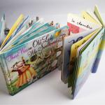 children cardbook printing factory with DVD