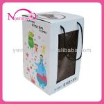 corragated paper box with window for toy packakge