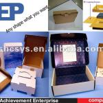 corrugated box for products packaging