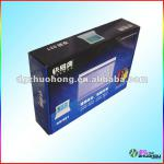 corrugated carton box for electronic products