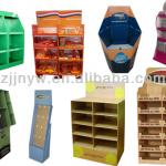 Customized Cardboard/Corrugated Floor Display Stand/Rack