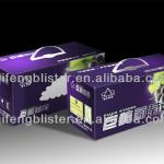customized High quality CMYK glossy lamination offset printing packaging color box