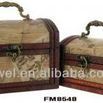 Factory Direct Sale Antque Style Small Wooden Box Set