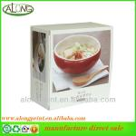 Foldable Dinner Set Recycle Corrugated Paper Carton Box