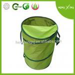 Green PE/Oxford pop-up garden bag with handles