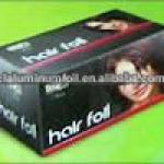 hair colouring aluminum foil